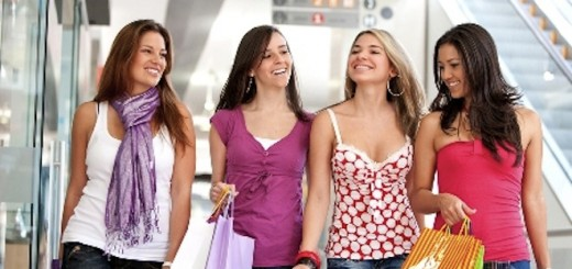 bigstockphoto_Friends_Shopping_4317497