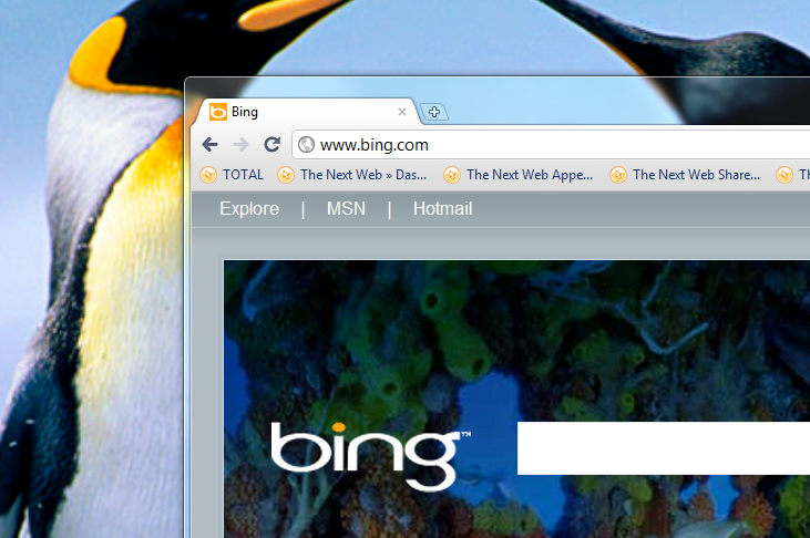 Bing's total search volume surged 29% in 2010