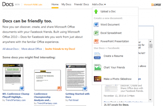 docs 520x337 5 great ways to work better using Facebook