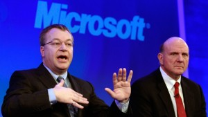 elop ballmer 300x169 Nokia hopes to finalise Microsoft partnership within a couple of months