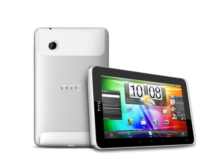 HTC Flyer Is Official: 7-inch Aluminium Android Tablet With A Media Focus