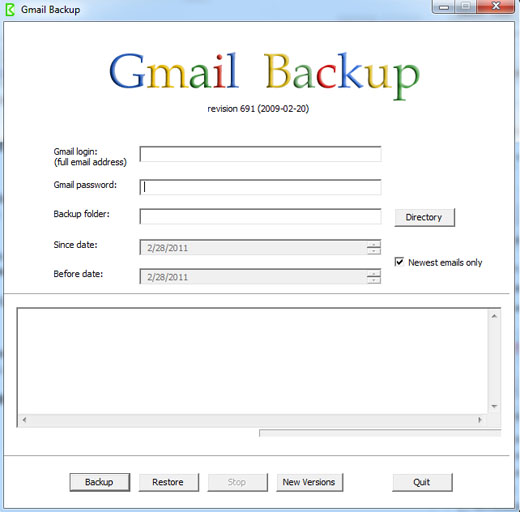 gmailbackup 5 free ways to back up your Gmail online and offline.