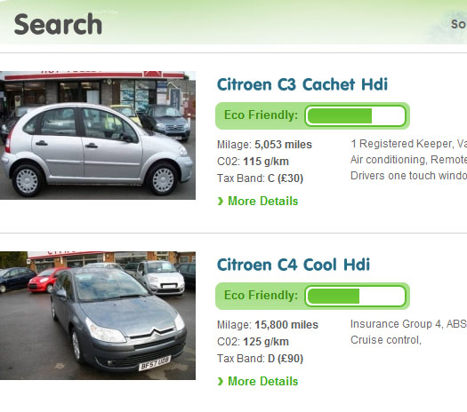 greencar2 EcoForecourt: a marketplace just for eco friendly vehicles