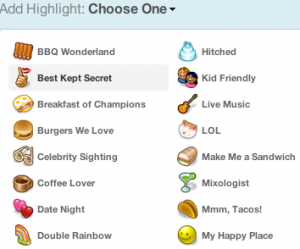highlights 300x249 Gowalla enhances Spot Highlights as it approaches 1 million users