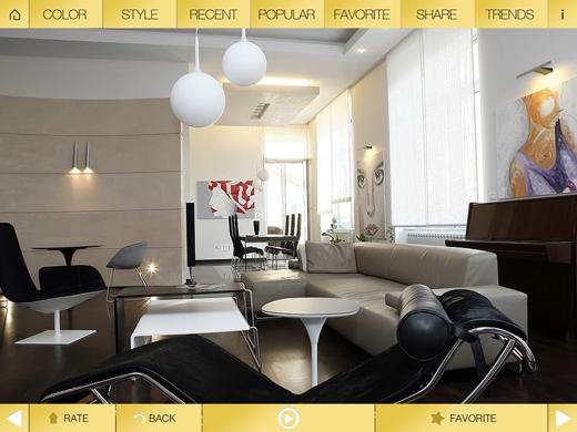 homeHD Dream Home HD: A gorgeous iPad app for interior design