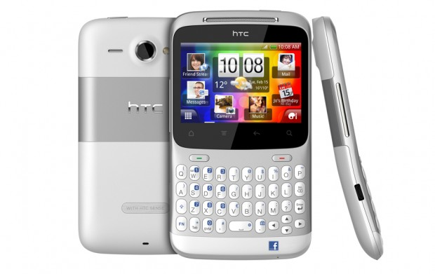 htcchacha2 620x391 HTC announces the HTC Salsa and HTC ChaCha, the Facebook phones you were looking for