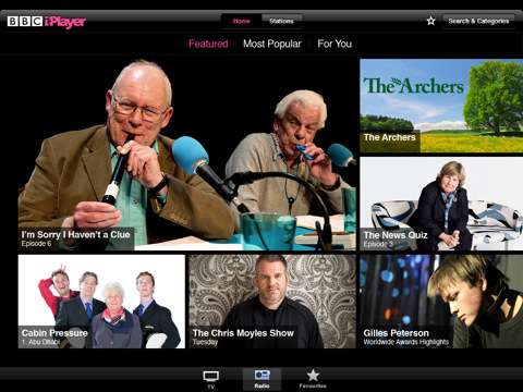 BBCs iPlayer now available in the UK App Store