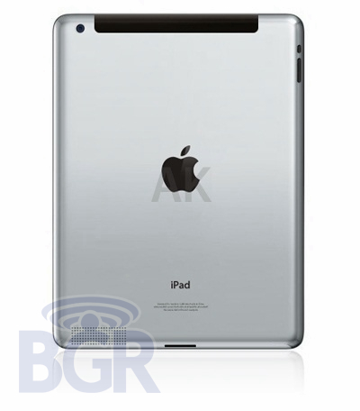 Could this be iPad 2? It certainly looks right.