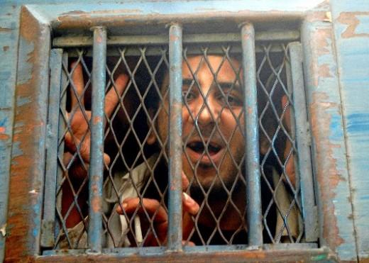 Kareem in former Prison cell