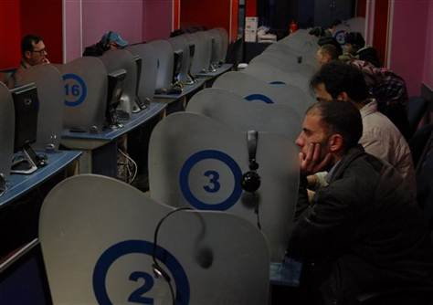 Syrian Internet Cafe