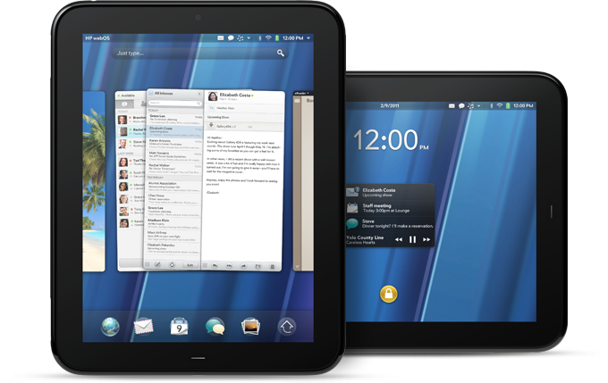 HP TouchPad reportedly launching in April