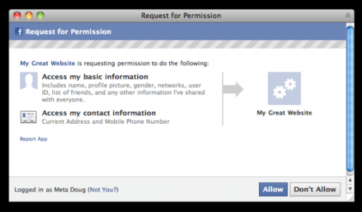 permission 520x305 Facebook continues plans to give your mobile number and home address to apps.