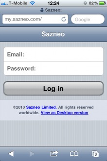 photo 11 220x330 Sazneo unveils real time group collaboration for the iPhone