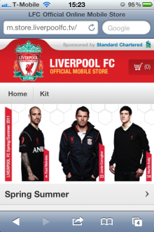 photo 12 220x330 Liverpool FC becomes the first football club to launch a fully functional mobile store