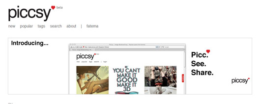 piccsy3 Piccsy: Stunning Image Bookmarking and Discovery [Invites]