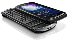 pro 260x152 Sony Ericsson unveils Xperia Play, Neo and Pro Android handsets