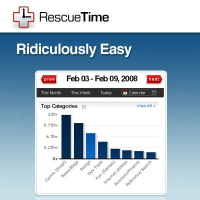 rescuetime 10 Web Apps to Simplify your Life