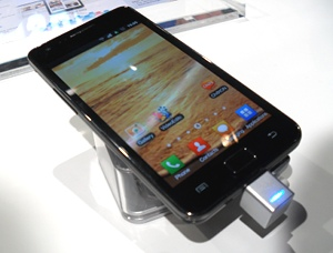 samsung galaxy s ii The Best of Mobile World Congress 2011