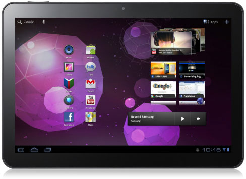 Samsung Galaxy Tab 10.1 Official: Tegra 2 powered with Honeycomb