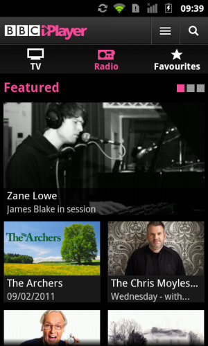 screenshot 3 300x500 BBC iPlayer Android App Launches