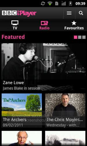 screenshot 4 300x500 BBC iPlayer Android App Launches