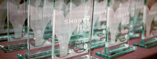 Shorty Awards: It's like the Oscars but for Twitter