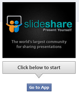 slideshare 5 great ways to work better using Facebook