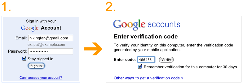 Google makes your account more secure with 2-step verification
