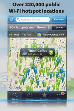wifi 260x390 10 Free iPhone Apps to Help You Save Money