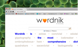wordnik 260x156 Round Up of 5 Cool APIs for Developers