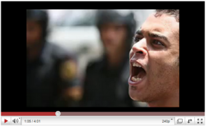 youtube shot 300x183 Most Viewed Arabic Video on YouTube Displays Egyptian Oppression