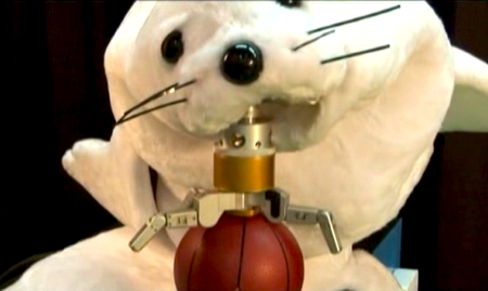 1800725 This robo seal shoots hoops: Welcome to the Uncanny Animal Valley