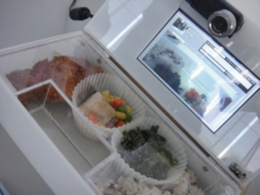 "Lunchbox packs a camcorder so you can say ""Thanks"" while eating"