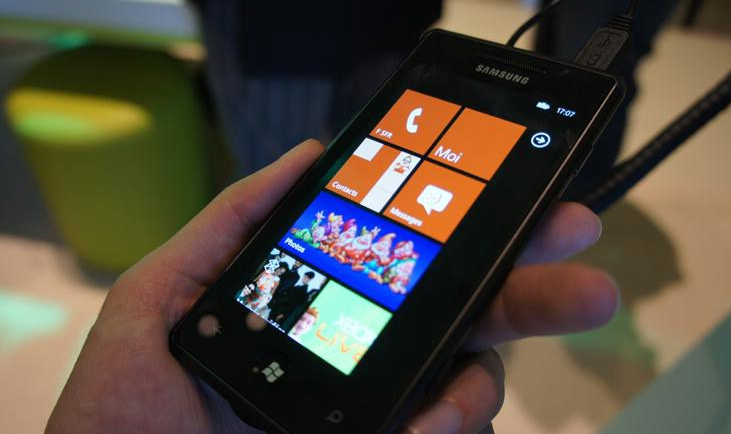 Samsung WP7 owners having fresh problems with pre-NoDo update