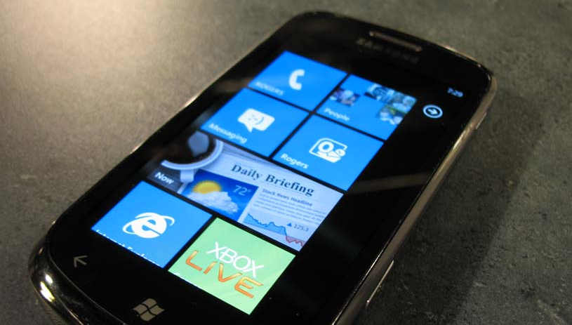 Microsoft and Samsung team up for next-gen WP7 handsets