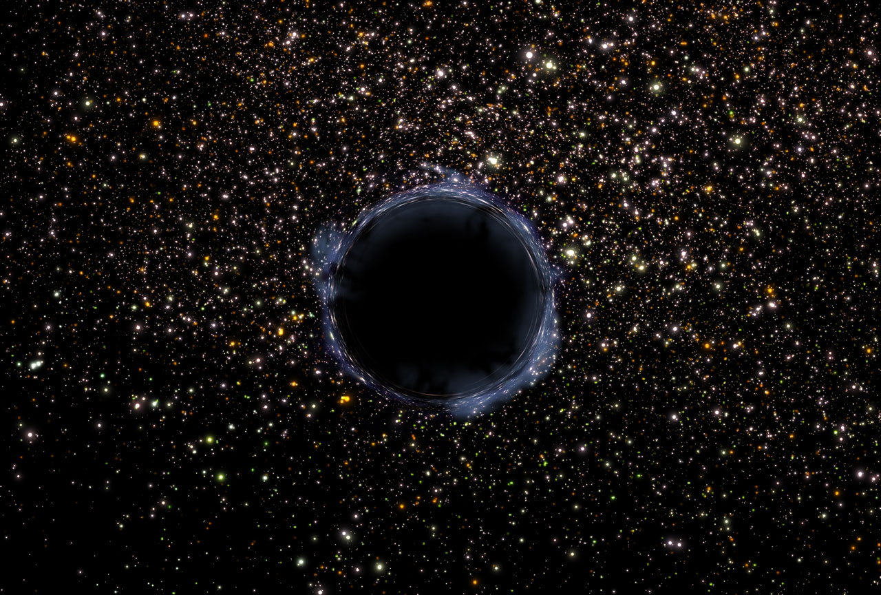 Black Hole in the universe