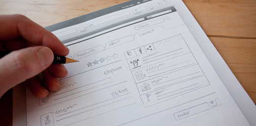 Browser Sketch Pad Get the Ultimate UI Sketching Kit from UI Stencils