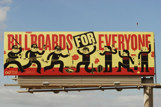 Closeup.jpg.scaled1000 520x347 Adstruc disrupts the outdoor ad space with Gary V, Twilio and Shepard Fairey.