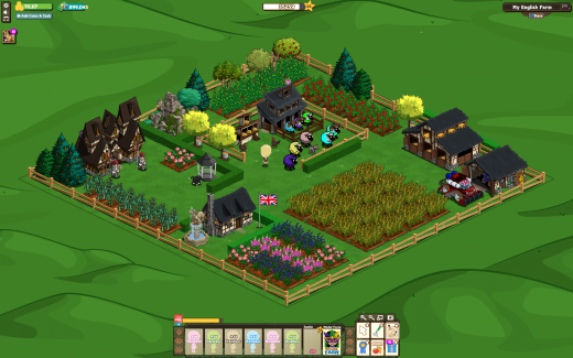 FV English Countryside Screen Shot 520x325 Zyngas FarmVille English Countryside expansion rolls out