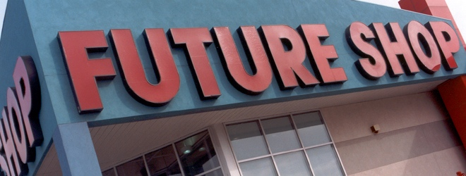 Trade-in your scratched-up DVDs at the Future Shop