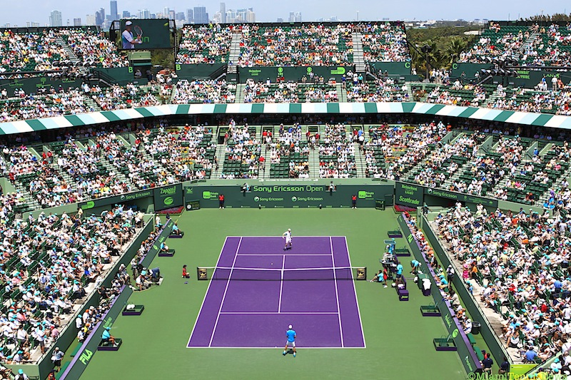 Sony Ericsson Open to become first fully Foursquare integrated sporting event
