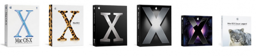 OSXBoxes 520x114 Apples Mac OS X Turns 10 Today