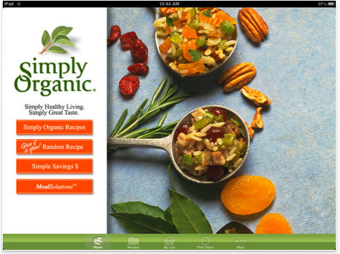 Picture 18 Simply Organic HD: A beautiful iPad app for organic foodies