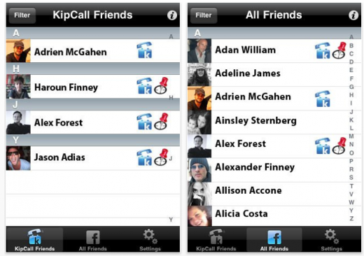 Picture 28 520x366 KipCall: iPhone app to call your Facebook friends free, no WiFi or 3G needed