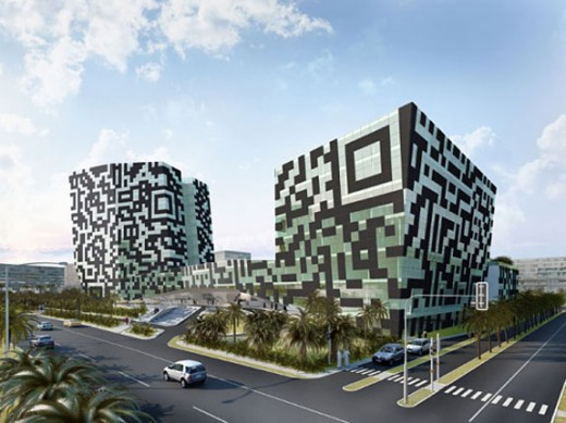 Qr code hotel1 520x389 An entire hotel built out of QR code and other great QR strategies