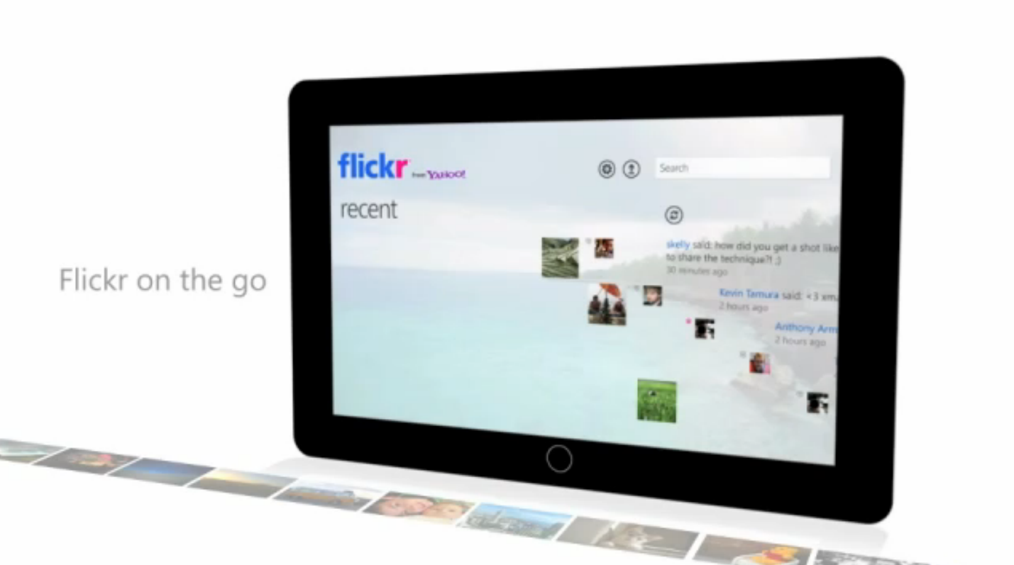 Flickr launches official Windows 7 and Windows Phone 7 apps