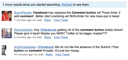 Screen shot 2011 03 16 at 07.29.05 520x246 Facebook drops the comment button, allows users to edit replies