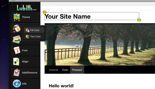 Screen shot 2011 03 31 at 9.53.26 AM 520x298 Lubith: A dead simple tool for creating your WordPress theme