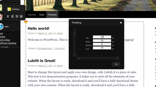 Screen shot 2011 03 31 at 9.54.06 AM 520x291 Lubith: A dead simple tool for creating your WordPress theme