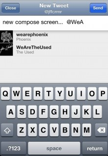 Twitter for iPhone Auto Complete e1299174164555 220x318 Twitter for iOS updated with slick new features and design